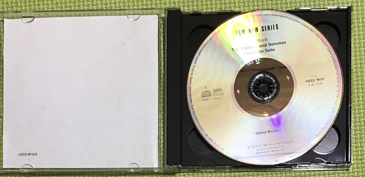 JSバッハ:伴奏曲ヴァイオリンソナタとパルティータ(全曲)2CD (H24)_画像6