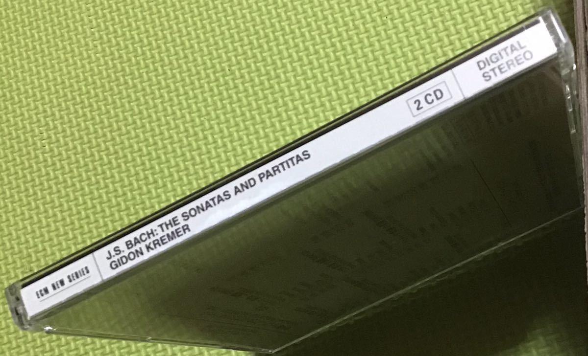 JSバッハ:伴奏曲ヴァイオリンソナタとパルティータ(全曲)2CD (H24)_画像4