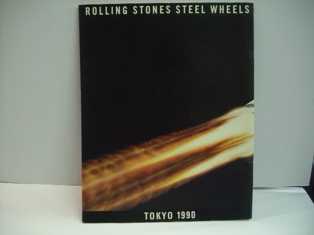 [ツアーパンフレット] ローリング・ストーンズ / ROLLING STONES STEEL WHEELS TOKYO 1990 ◇r2701_画像2