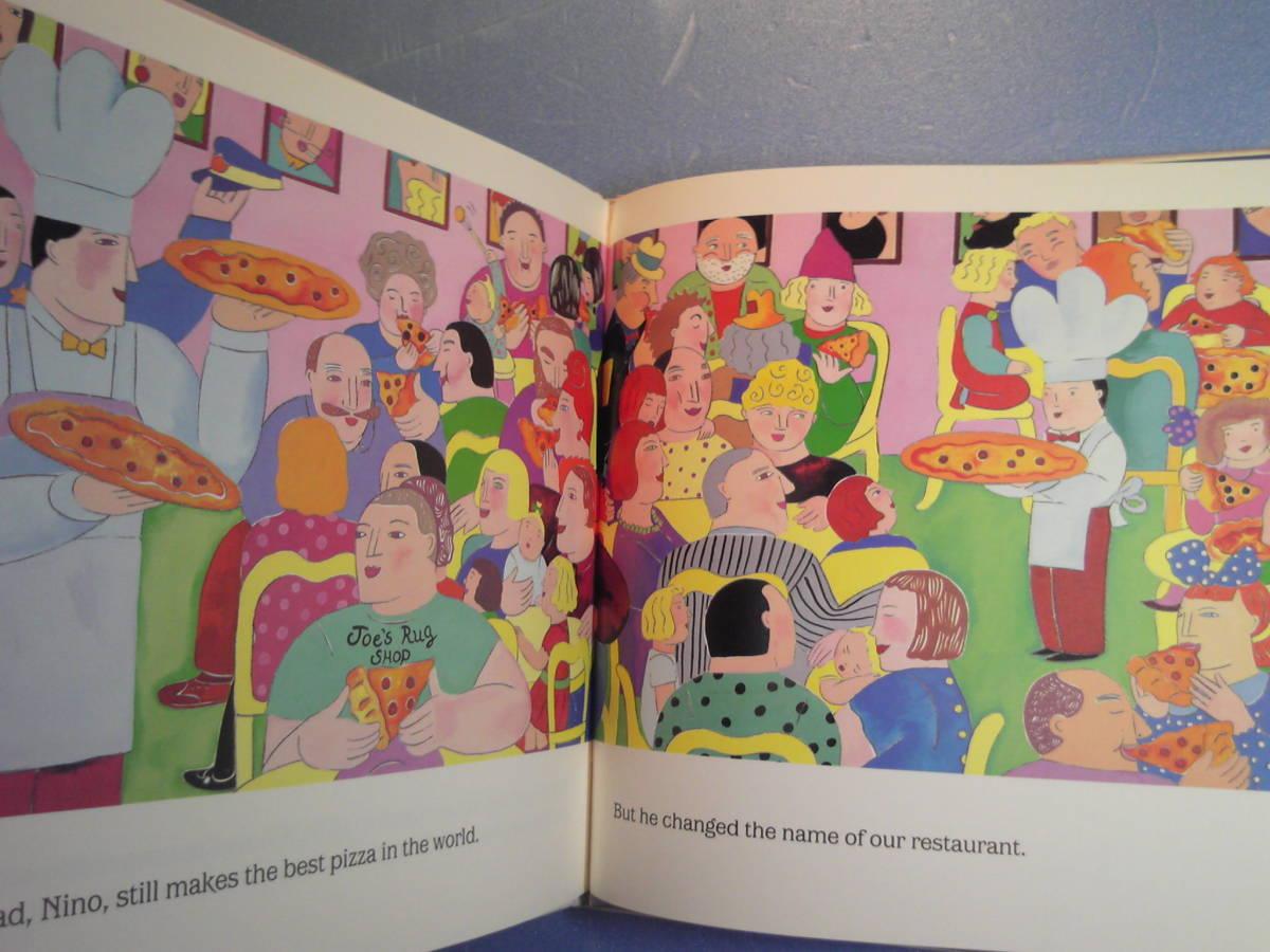英語絵本「Little Nino's Pizzeria/ニノの小さなピザ屋さん」Karen Barbour著 HMH Books