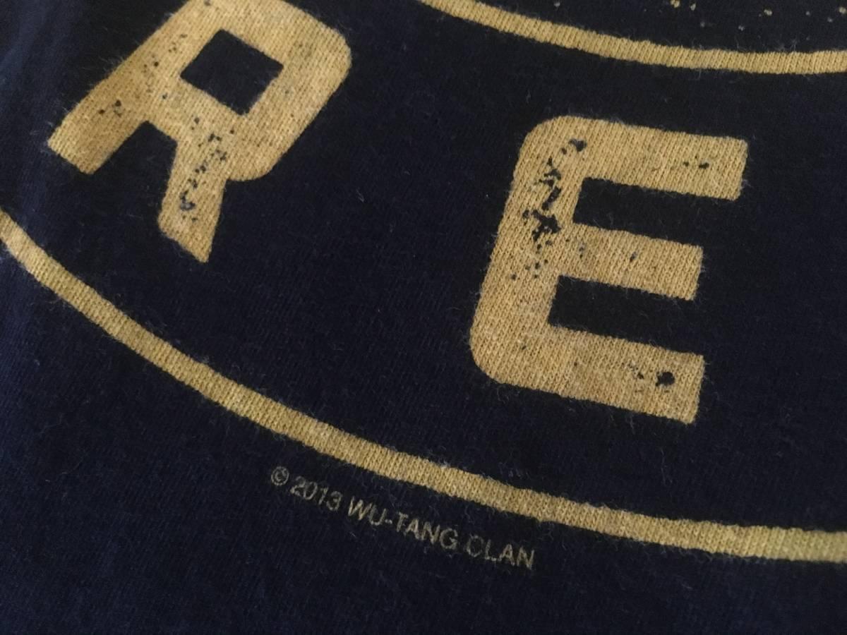 ★WU-TANG CLANウータンクランTシャツMブラックC2013バンドTヒップホップWUTANG FOREVER_画像5