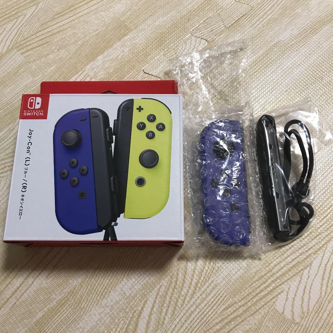 【新品】ジョイコン Joy-Con 左 ブルー ニンテンドースイッチ Switch