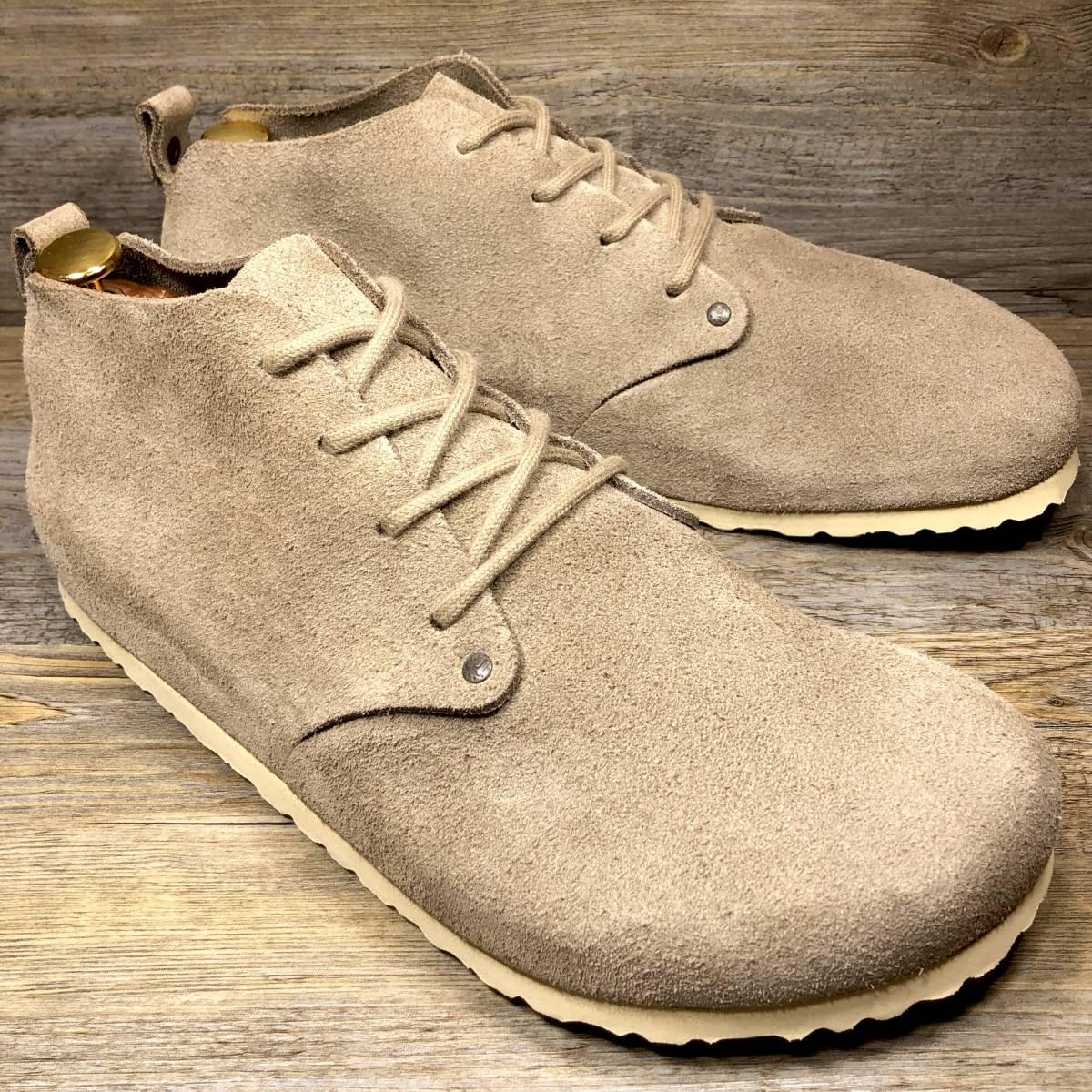 ■BIRKENSTOCK DUNDEE■ 未使用品 定価19,580円 27cm 42 ベージュ ビルケンシュトック ダンディー メンズ 靴 革靴 天然皮革 くつ 即決_画像3