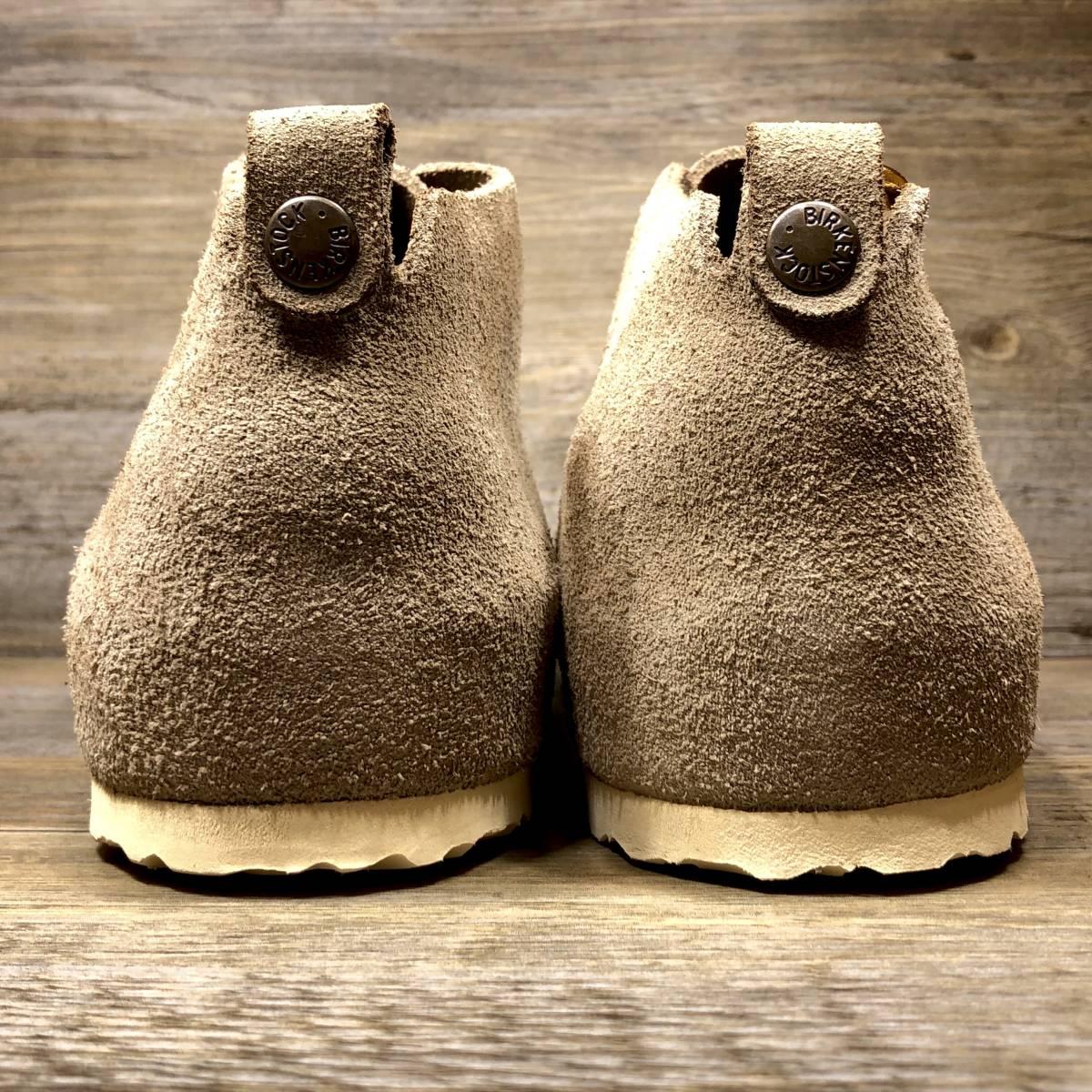 ■BIRKENSTOCK DUNDEE■ 未使用品 定価19,580円 27cm 42 ベージュ ビルケンシュトック ダンディー メンズ 靴 革靴 天然皮革 くつ 即決_画像5