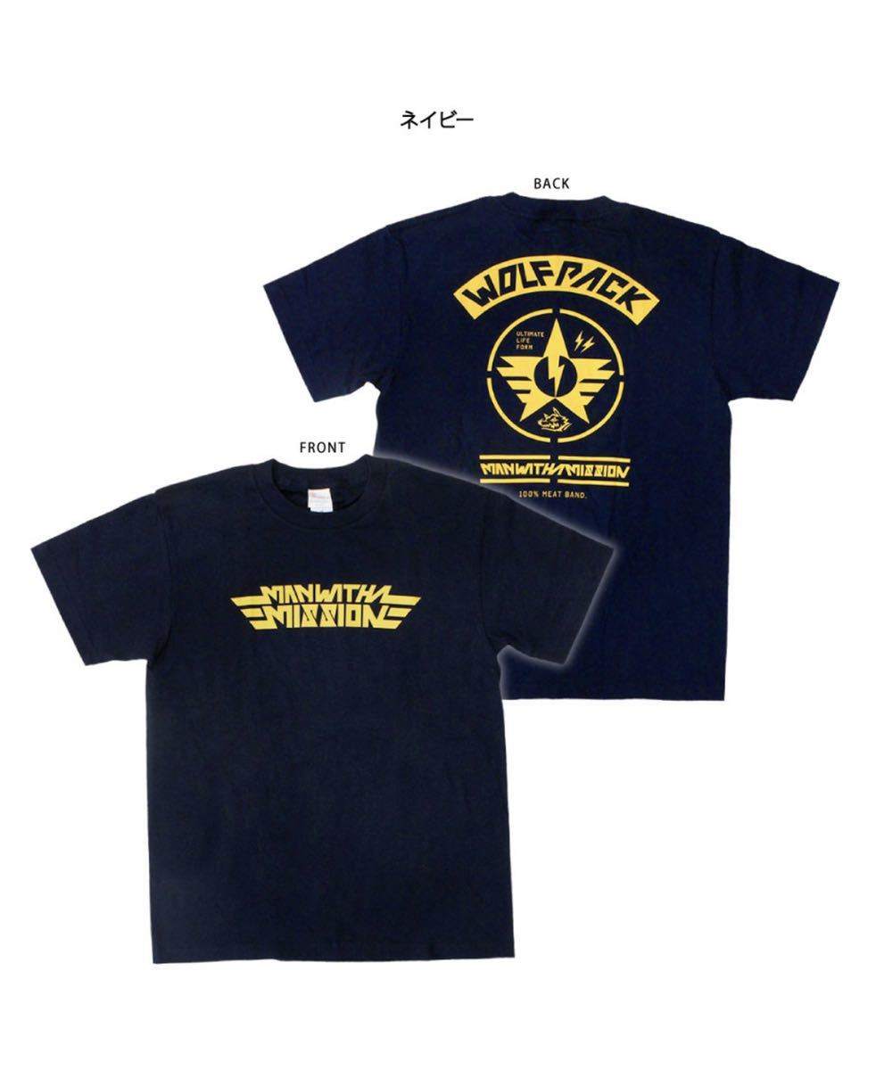 ●MAN WITH A MISSION MWAM ARMY Tシャツ マンウィズ サイズL●_画像1