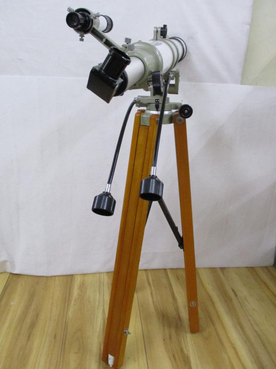 【ト葛】Vixen ビクセン 天体望遠鏡 直接引き取り限定 CUSTOM 80M D=80mm f=910mm 星空 天体観測 CH050CYY28_画像3