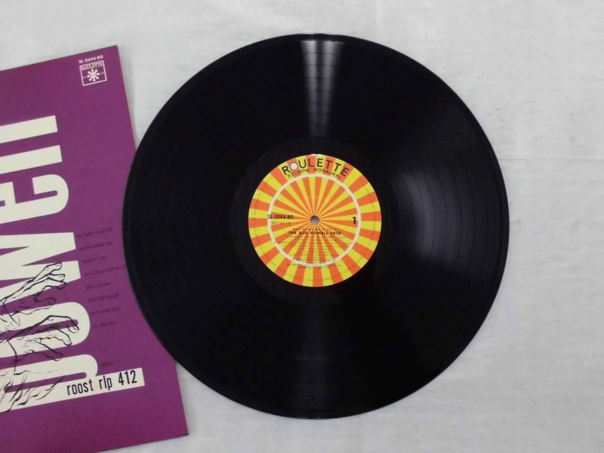 良盤屋 J-1684◆LP◆SL-5044-RO-Jazz  バッド・パウエル・トリオ The Bud Powell Trio The Bud Powell Trio  送料380_画像7