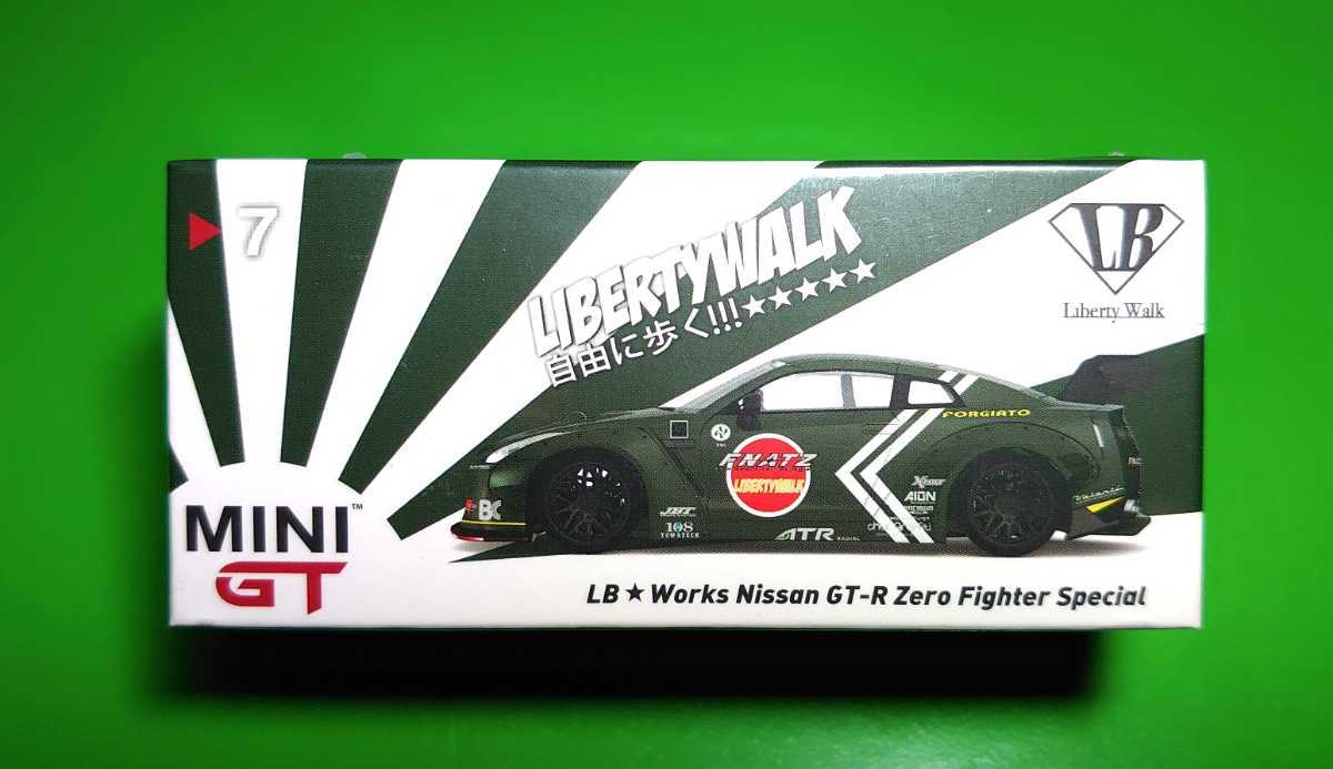 Rear Wing Version 1 Zero Fighter Special 1//64 TSM LB Works Nissan GT-R Type I