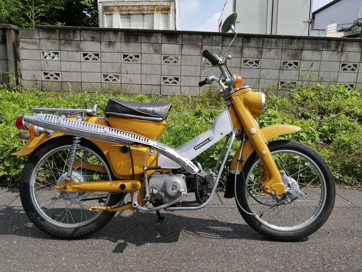 「ホンダ ハンターカブ CT50 エンジン 実働 綺麗な車体 旧車 昭和 レトロ CT50」の画像1