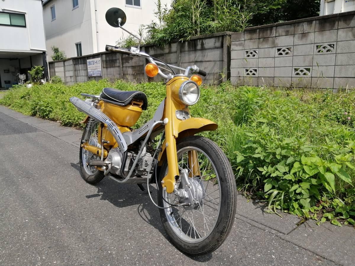 「ホンダ ハンターカブ CT50 エンジン 実働 綺麗な車体 旧車 昭和 レトロ CT50」の画像2