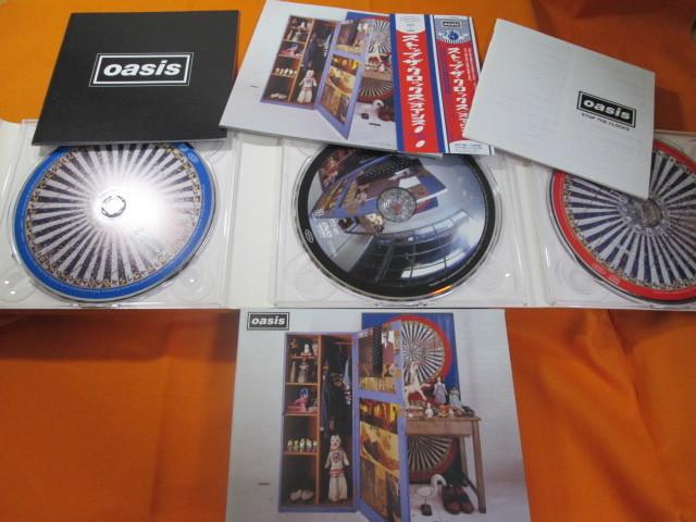 ♪♪♪ オアシス Oasis 『 Stop The Clocks 』国内盤3枚組 ♪♪♪_画像3