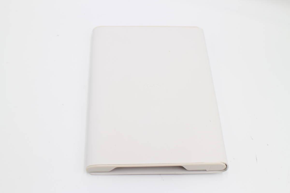 ソニー Reader用 ライト付ブックカバー ホワイト PRSA-CL20/W_画像2