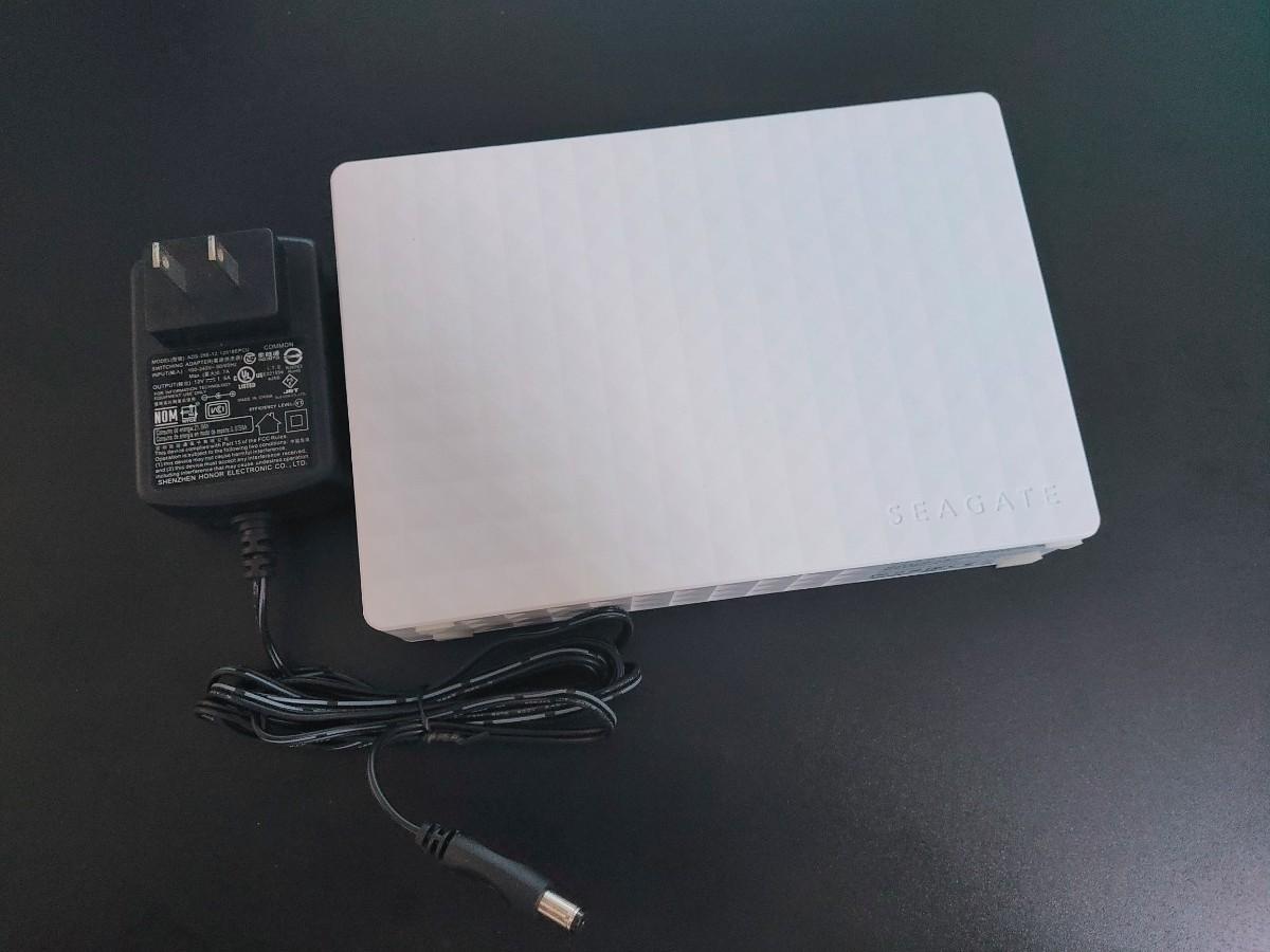 Seagate 外付 ハードディスク 2TB USB3.0 テレビ録画対応