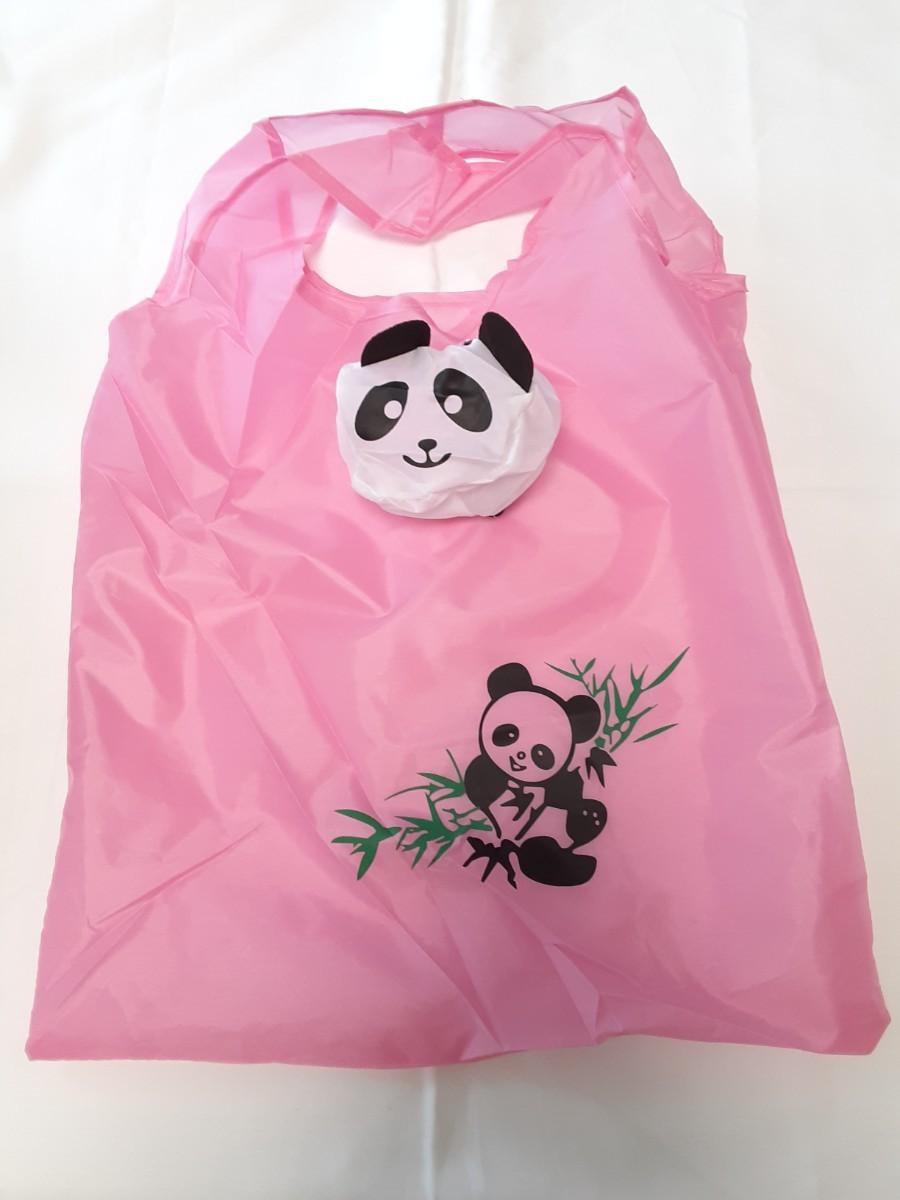 エコバッグ ショッピングバッグ レジ袋 マイバッグ パンダ 熊猫 PANDA