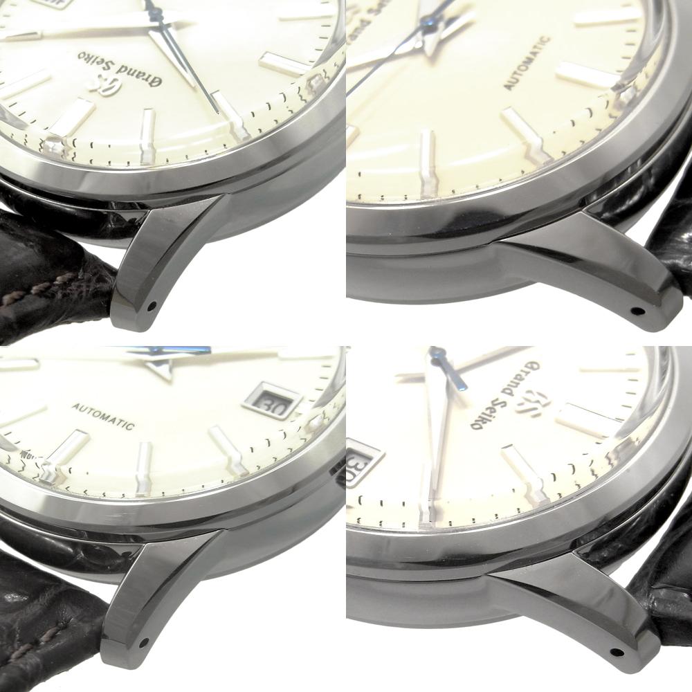 セイコー グランドセイコー メンズ 自動巻き オートマ デイト SBGR261 9S65-00D0 アイボリー文字盤 SEIKO GS_画像3