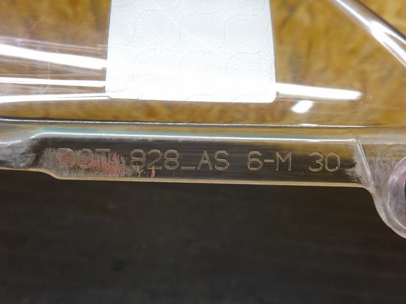 【000A】1199パニガーレS '12◇ 純正スクリーン クリア 【ドゥカティ スーパーバイク ABS付_画像8