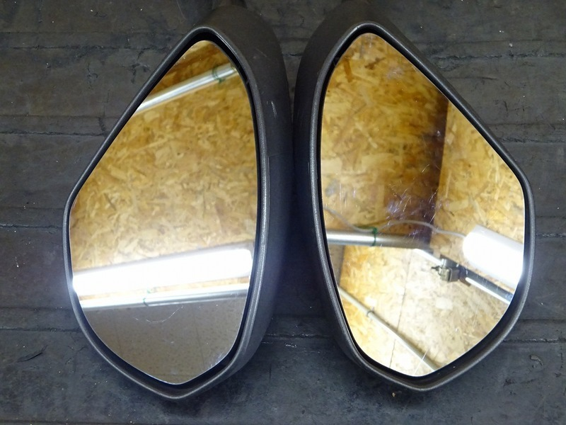 【200701】1199パニガーレS '12◇ ミラー 左右セット LEDウインカー内蔵型 【ドゥカティ スーパーバイク ABS付_画像2