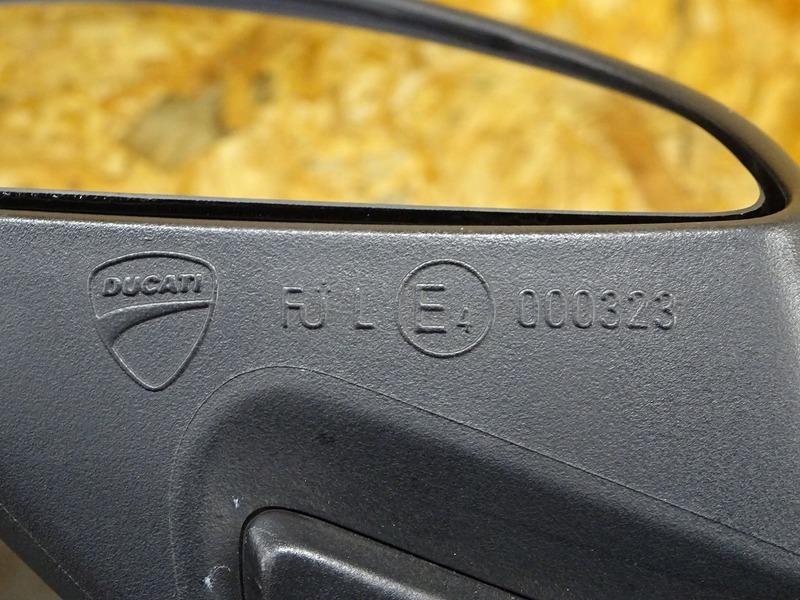 【200701】1199パニガーレS '12◇ ミラー 左右セット LEDウインカー内蔵型 【ドゥカティ スーパーバイク ABS付_画像9