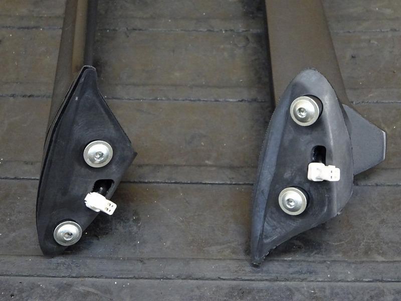 【200701】1199パニガーレS '12◇ ミラー 左右セット LEDウインカー内蔵型 【ドゥカティ スーパーバイク ABS付_画像10