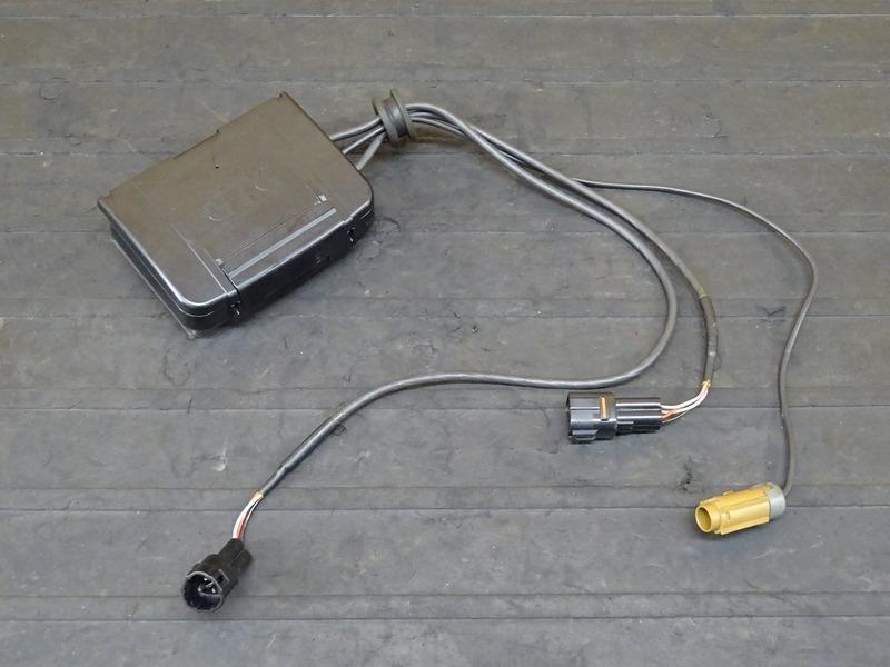 【200701】1199パニガーレS '12■ アンテナ分離型ETC車載器 JRM-11 インジケーター/アンテナ別体型 【ドゥカティ スーパーバイク ABS付_画像2