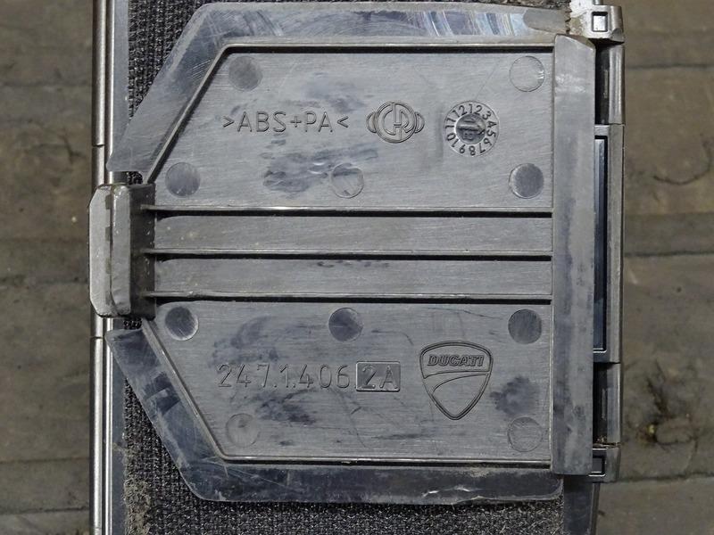 【200701】1199パニガーレS '12■ アンテナ分離型ETC車載器 JRM-11 インジケーター/アンテナ別体型 【ドゥカティ スーパーバイク ABS付_画像10