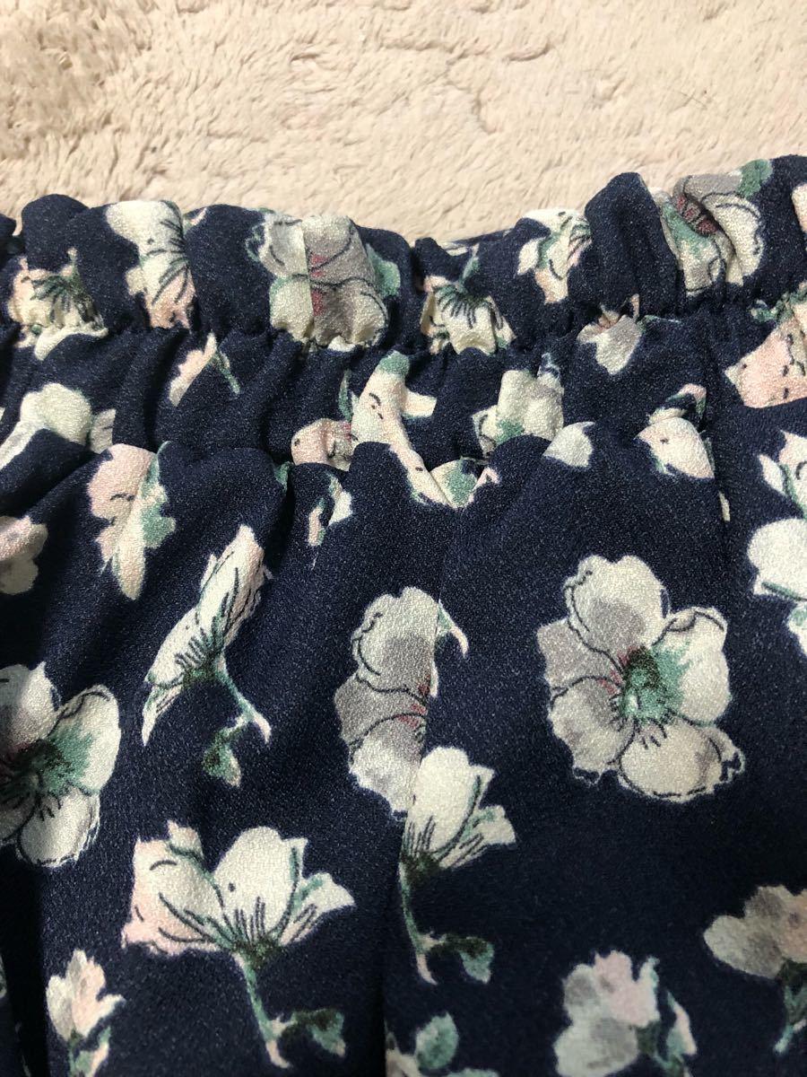 マジェスティックレゴン 花柄 スカート キュロット