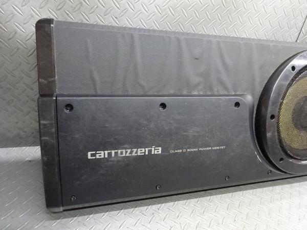 保証付! Carrozzeria カロッツェリア サブウーハー ウーファー TS-WX99A MAX 500W 音OK 即納 棚6-5_画像2