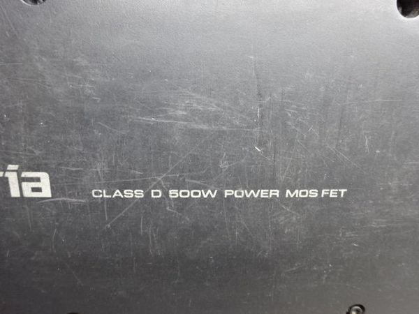 保証付! Carrozzeria カロッツェリア サブウーハー ウーファー TS-WX99A MAX 500W 音OK 即納 棚6-5_画像3