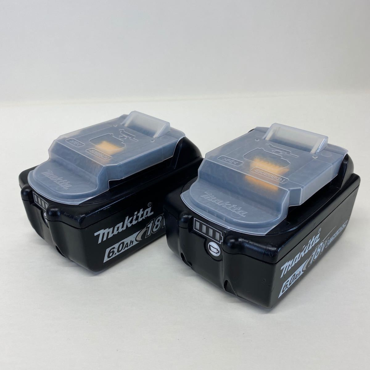【中古・完動品】マキタ Makita TD171D 充電式インパクトドライバ 18v 『ブルー』BL1860B×2 DC18RF充電器 フルセット TD171DRGX 純正品_画像7