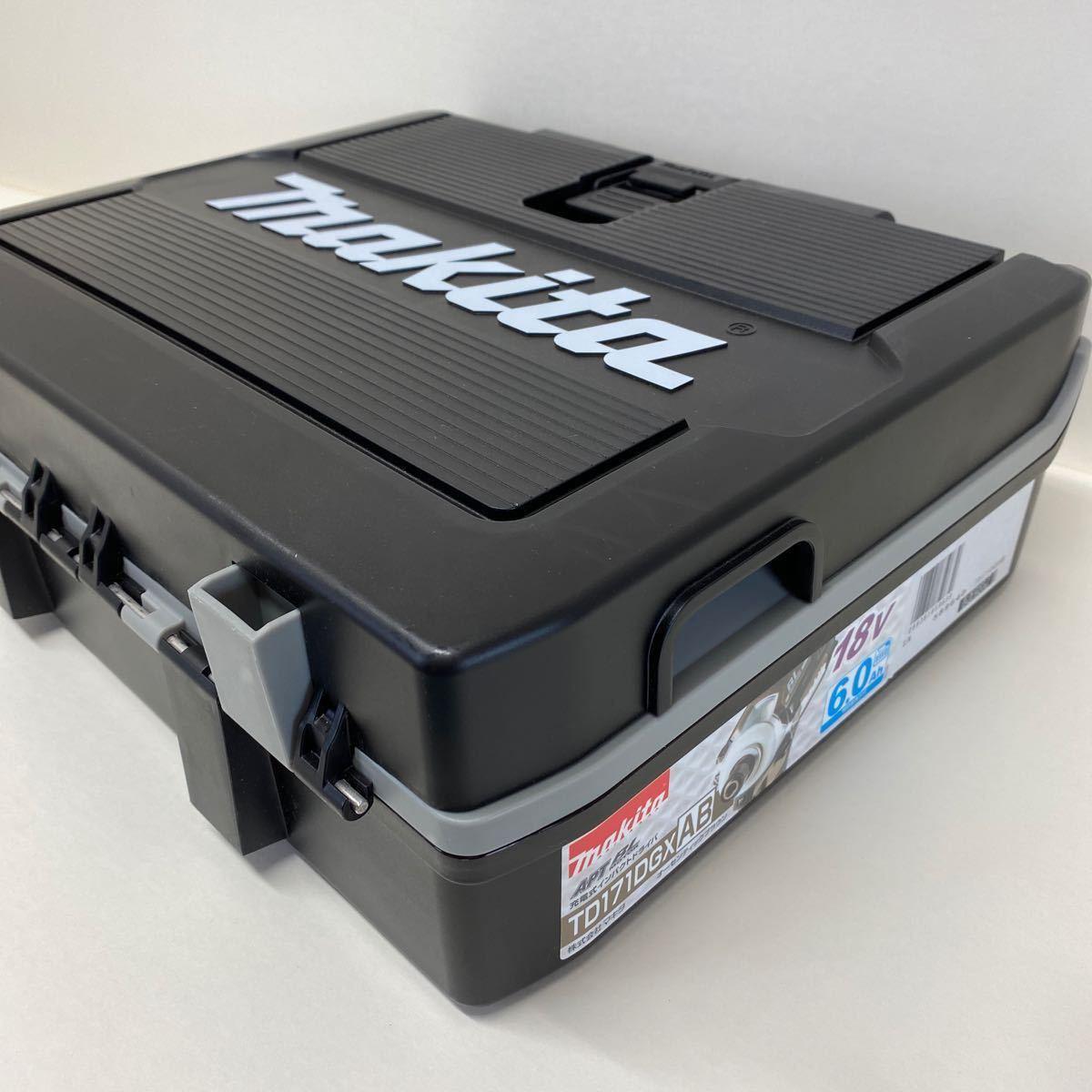 【中古・完動品】マキタ Makita TD171D 充電式インパクトドライバ 18v 『ブルー』BL1860B×2 DC18RF充電器 フルセット TD171DRGX 純正品_画像10