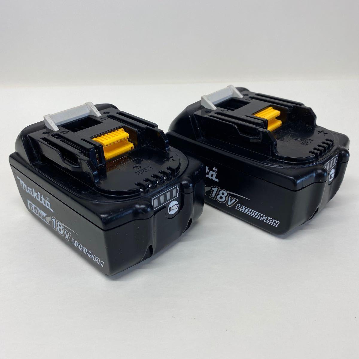 【中古・完動品】マキタ Makita TD171D 充電式インパクトドライバ 18v 『ブルー』BL1860B×2 DC18RF充電器 フルセット TD171DRGX 純正品_画像8