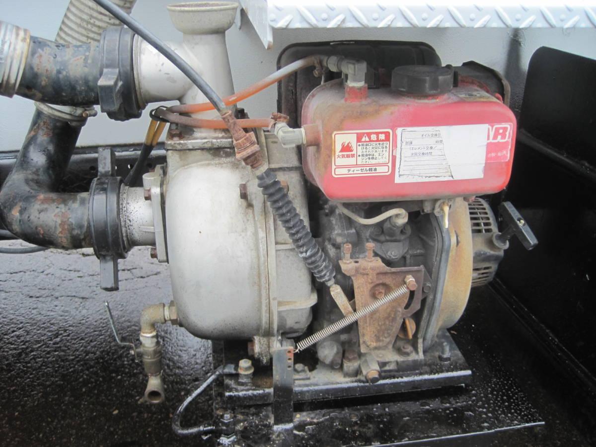 「H14年 エルフ 散水車 サブエンジン式 走行4万㎞ 3,900kg積載 車検有り NOx・PM適合」の画像3