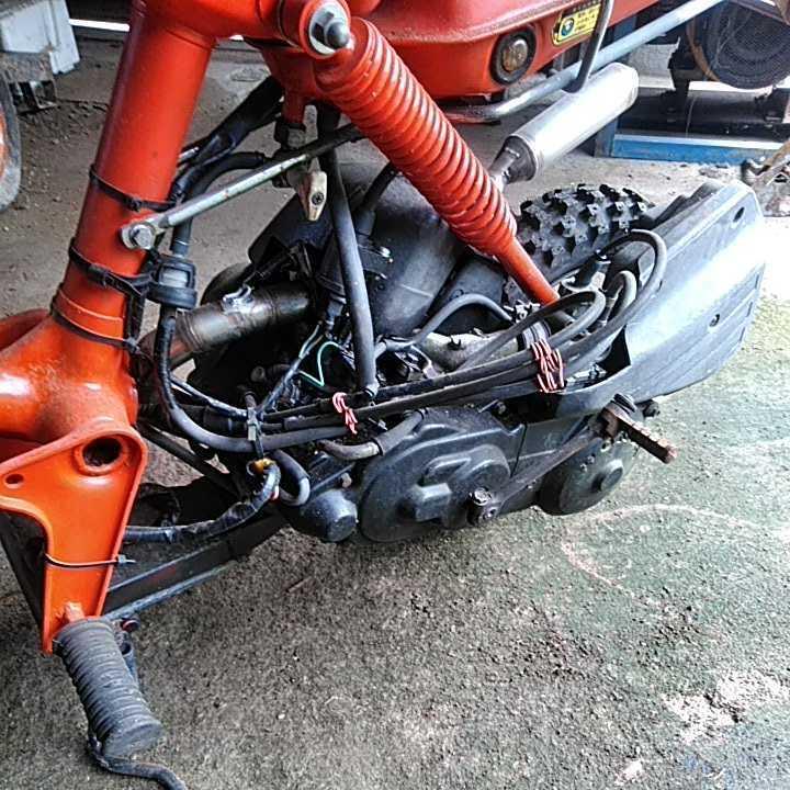 ロードパルHONDA ホンダ ボアアップ ディオエンジン チャンバー付き モトクロスタイヤ 値下げ交渉_画像4