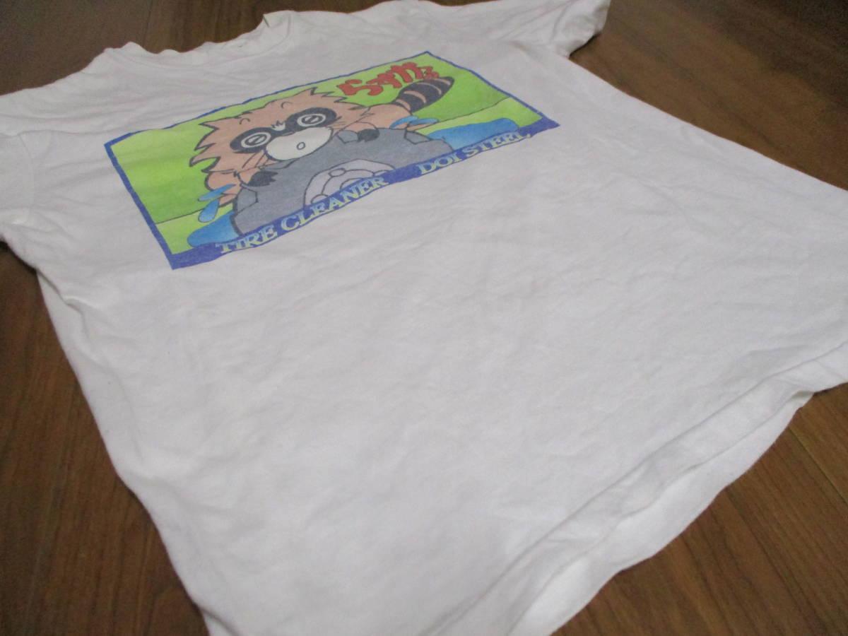 土井金属 タイヤクリーナー らすかる Tシャツ Sサイズ_画像7