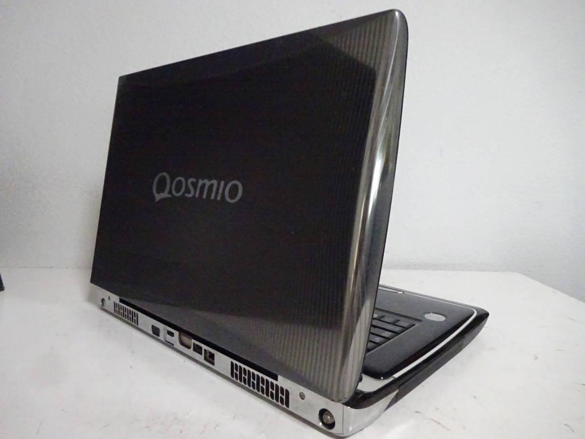 難有 フルHD TOSHIBA QOSMIO G50/97H Core 2 Duo P8600 2.4GHz メモリ:2GB HDD:320GB Windows10 Home PQG5097HLR_画像4