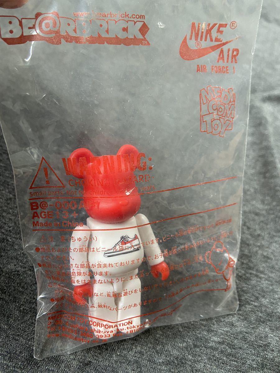 【新品】ベアブリック BE@RBRICK Nike Air Force 1 bearbrick 100% AD21 ナイキ メディコム トイ medicom toy fragment ape fcrb dunk_画像3
