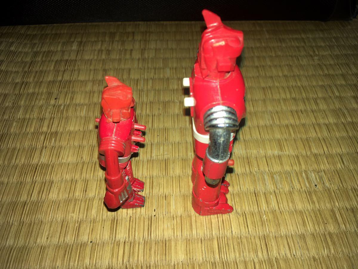 ポピー超合金 ASCウッド スーパーロボット マッハバロン 1970年代放送当時発売オリジナル ポピニカ ジャンクセット 送料無料_画像10