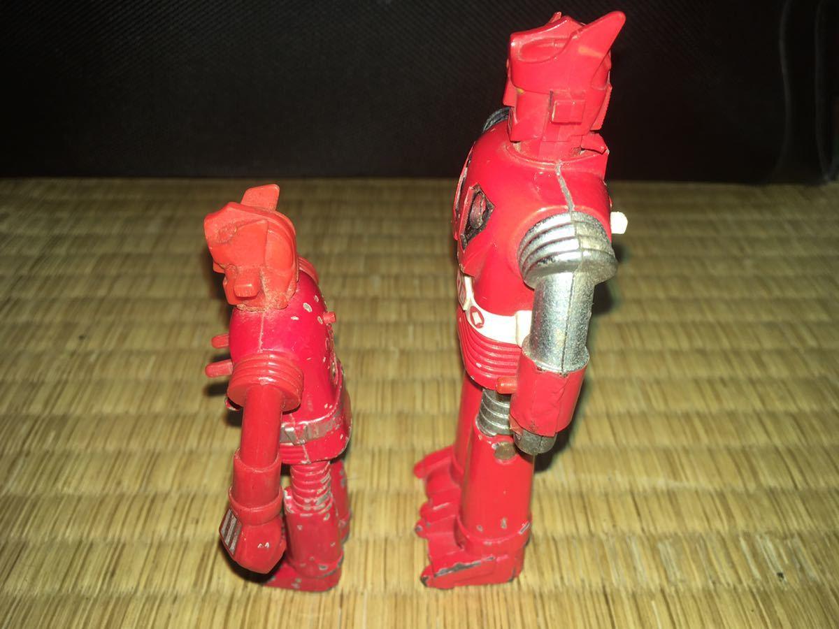 ポピー超合金 ASCウッド スーパーロボット マッハバロン 1970年代放送当時発売オリジナル ポピニカ ジャンクセット 送料無料_画像9
