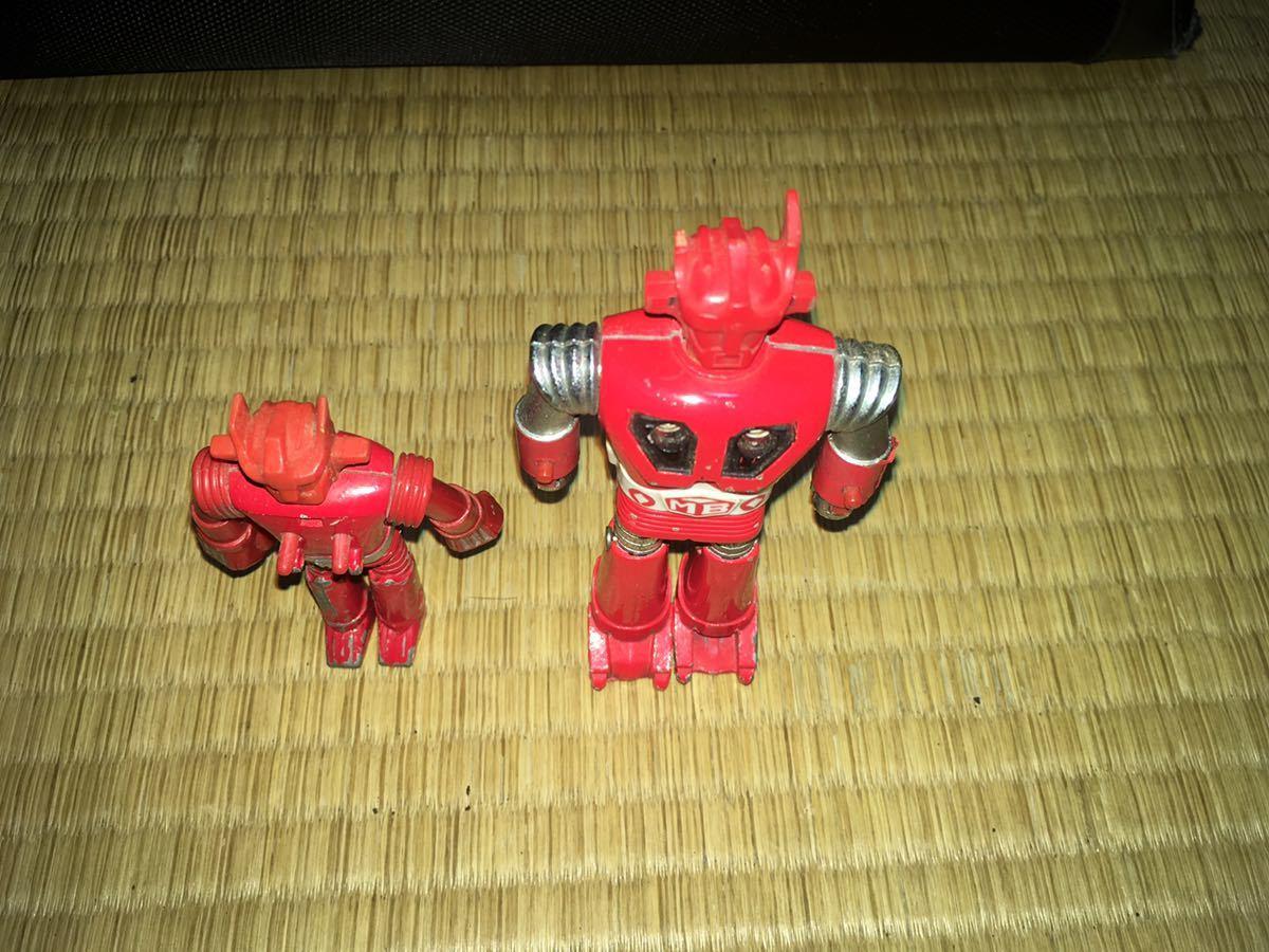 ポピー超合金 ASCウッド スーパーロボット マッハバロン 1970年代放送当時発売オリジナル ポピニカ ジャンクセット 送料無料_画像7