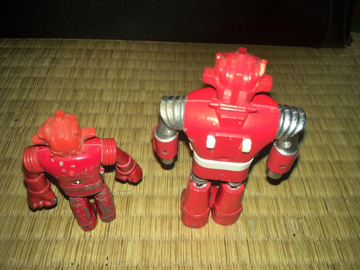 ポピー超合金 ASCウッド スーパーロボット マッハバロン 1970年代放送当時発売オリジナル ポピニカ ジャンクセット 送料無料_画像8