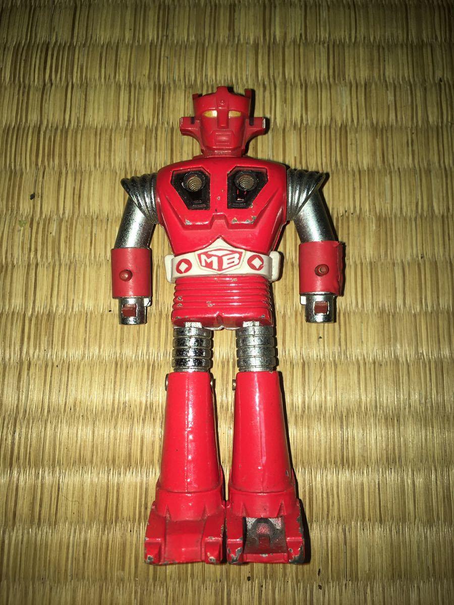 ポピー超合金 ASCウッド スーパーロボット マッハバロン 1970年代放送当時発売オリジナル ポピニカ ジャンクセット 送料無料_画像3
