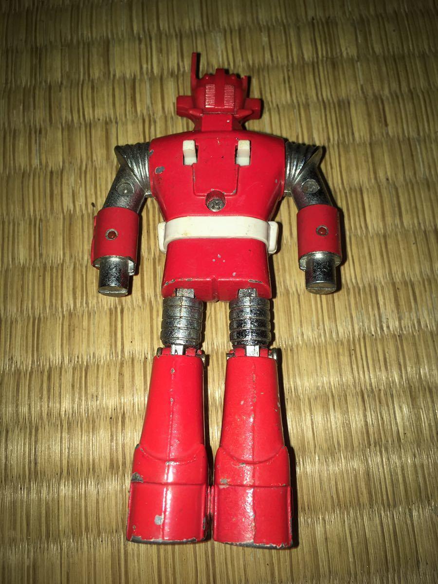 ポピー超合金 ASCウッド スーパーロボット マッハバロン 1970年代放送当時発売オリジナル ポピニカ ジャンクセット 送料無料_画像4
