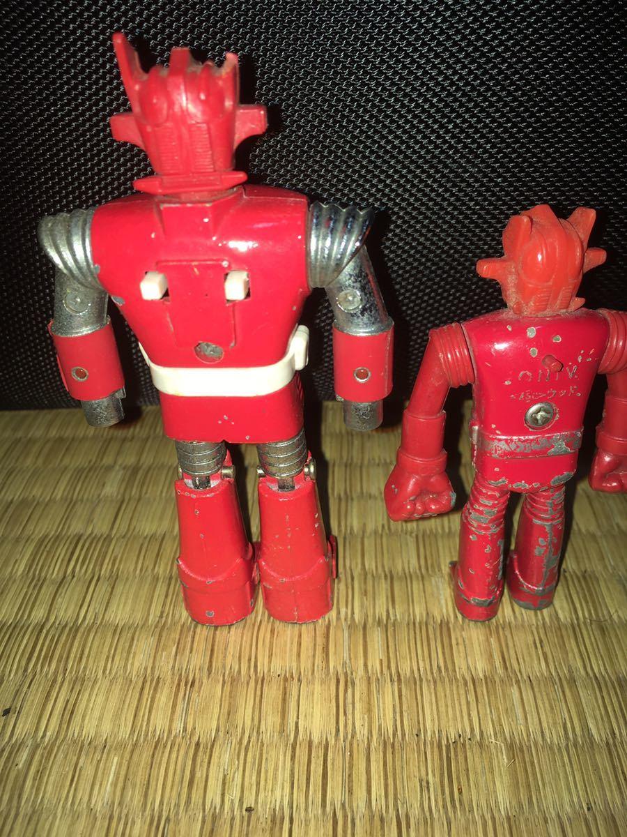 ポピー超合金 ASCウッド スーパーロボット マッハバロン 1970年代放送当時発売オリジナル ポピニカ ジャンクセット 送料無料_画像2