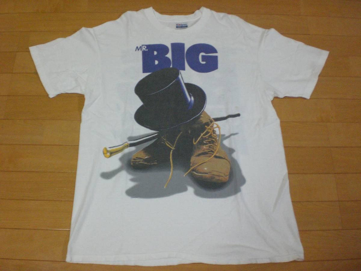 当時物 ビンテージ 80's MR BIG Tシャツ BEASTIE BOYS GUNS N ROSES METALLICA NIRVANA DEF LEPPARD KISS AC/DC POISON B'z AERO SMITH _画像1