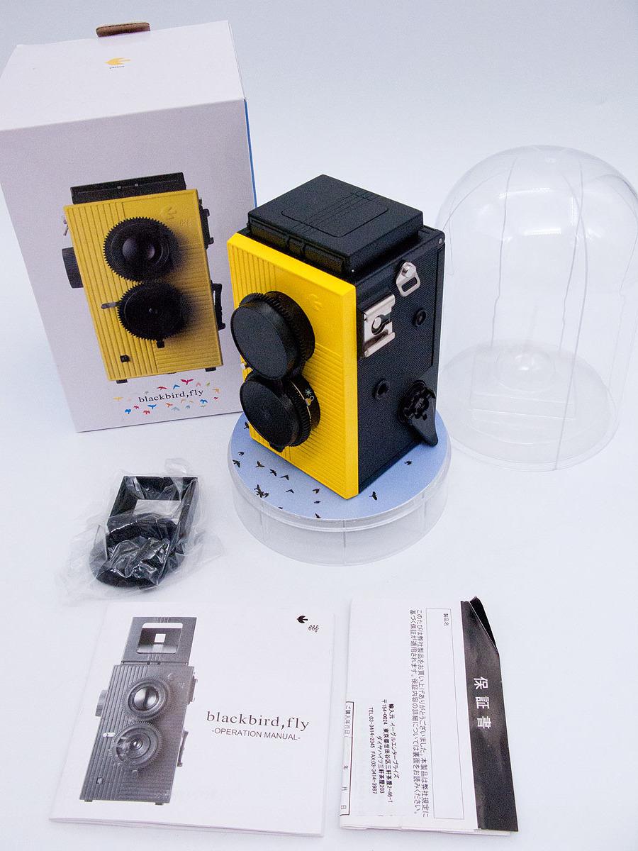 blackbird fly 35mmフィルム仕様 二眼レフカメラ ブラックバードフライ 未使用品 黄色 (検索: マミヤ ミノルタ ヤシカ ローライ )_画像9