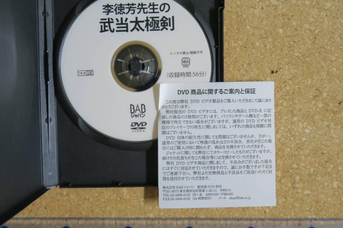 武当太極剣 李徳芳 武術 太極拳_画像3
