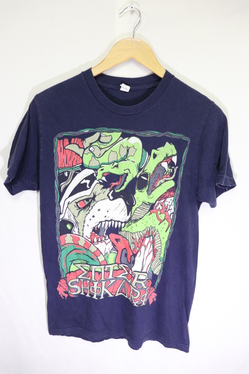 【メンズ】【良品保証返品OK】TULTEX Enter ShikariロックTシャツエンター・シカリ/バンド希少S_画像2
