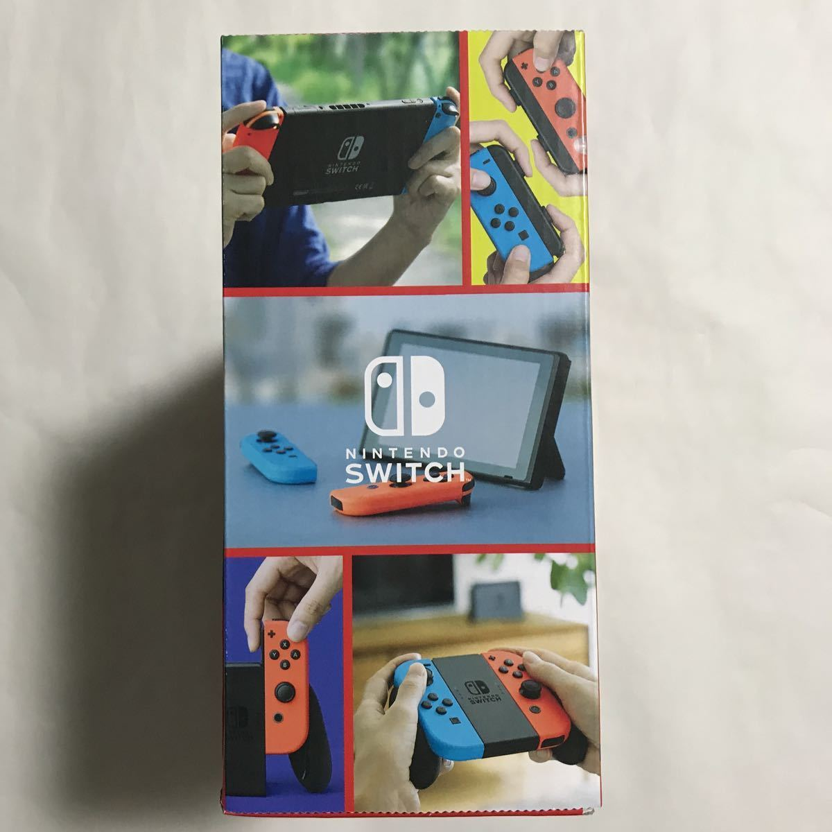 Nintendo Switch本体Joy-Con(L)ネオンブルー/(R)ネオンレッド新型 おまけ付 [新品未開封] 送料無料 ニンテンドースイッチ本体 任天堂 _画像7