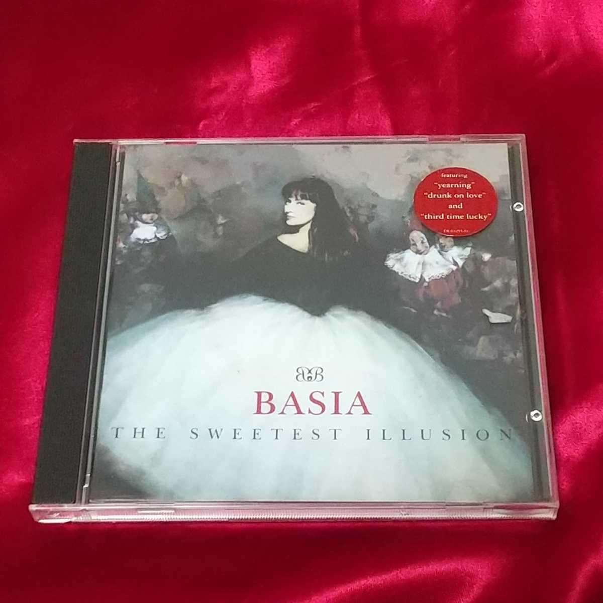 《BASIA》THE SWEETEST ILLUSION☆中古CD・送料無料