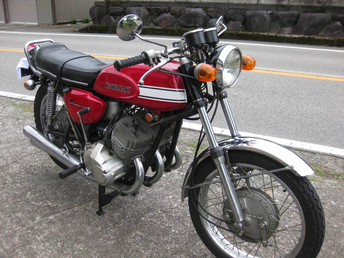 「カワサキ 500SS H1 KAF 車検付き」の画像2